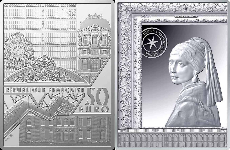 france-2021-vermeer-jeune-fille-a-la-perle-100-g
