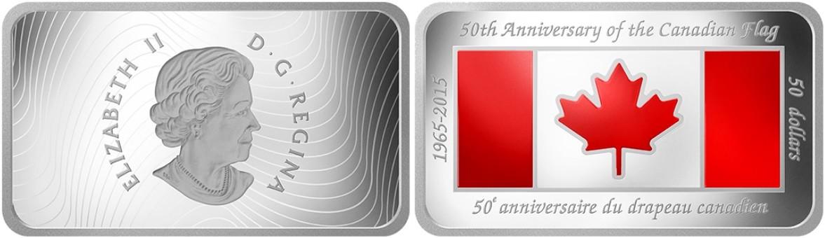 canada 2015 50 ans du drapeau