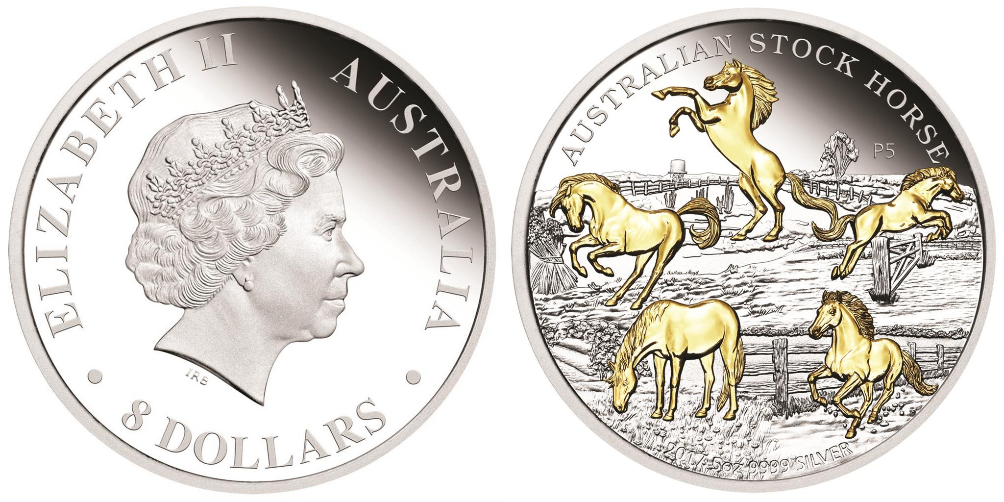 australie 2017 cheval stock 5 oz