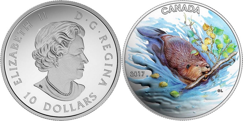 canada 2017 castor