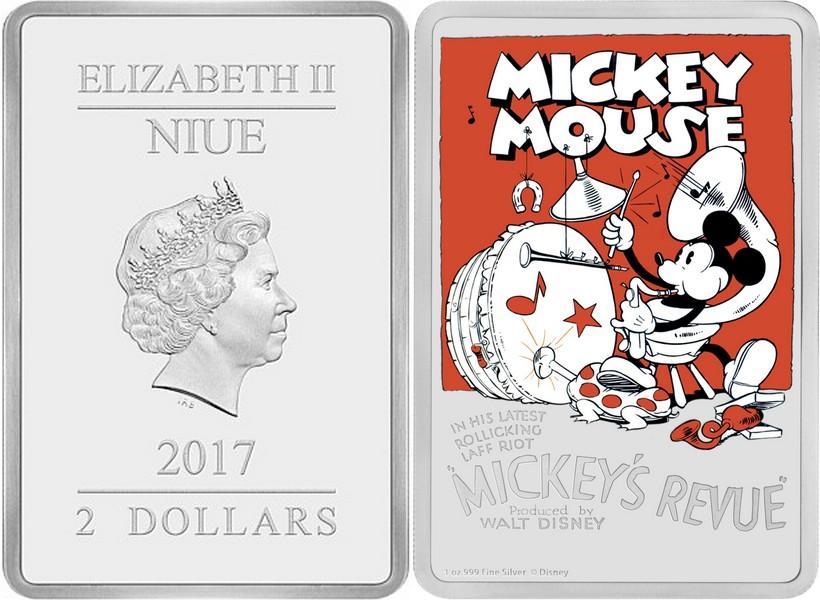 niue 2017 revue de mickey