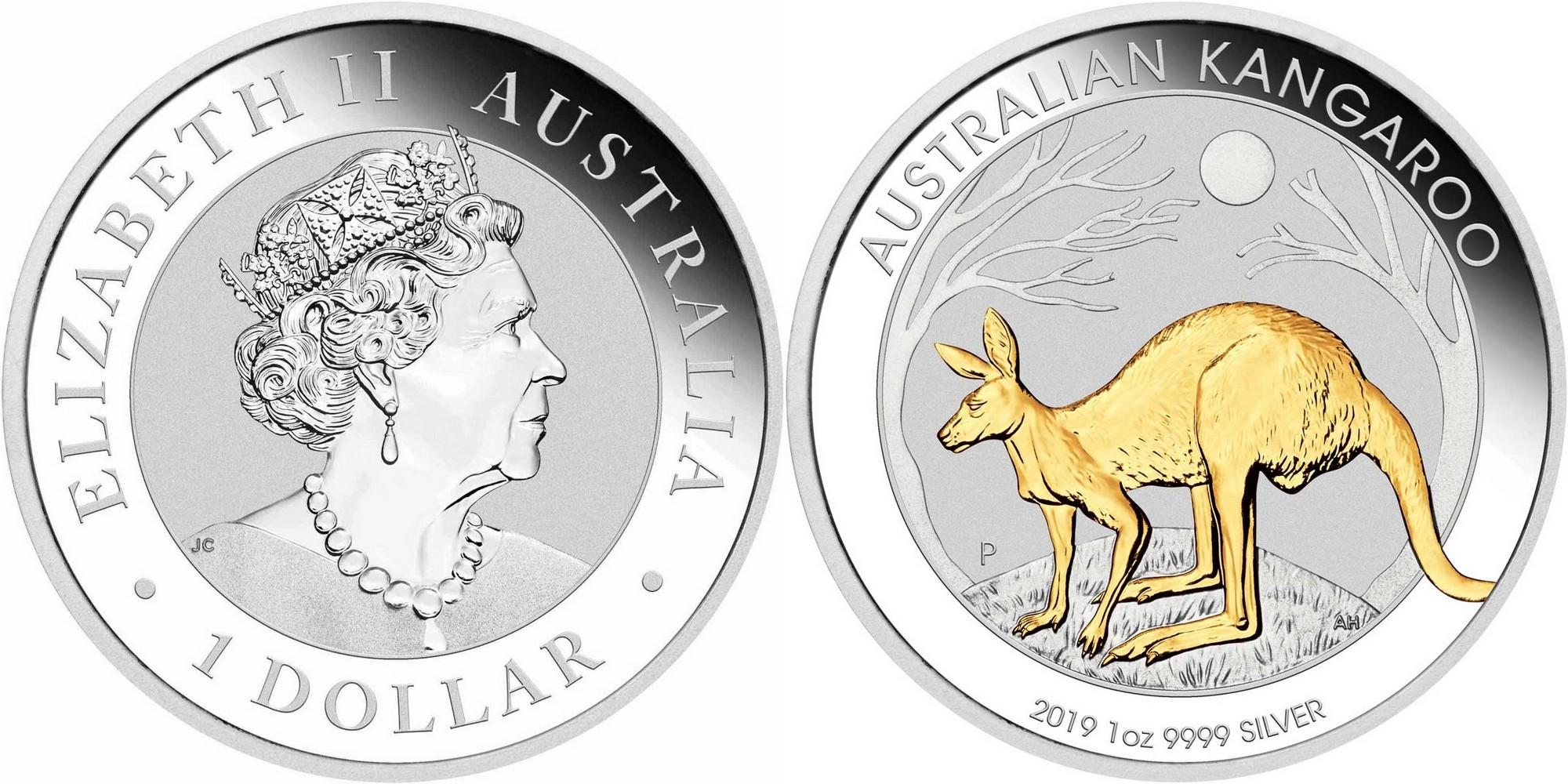 australie-2019-kangourou-plaq-or