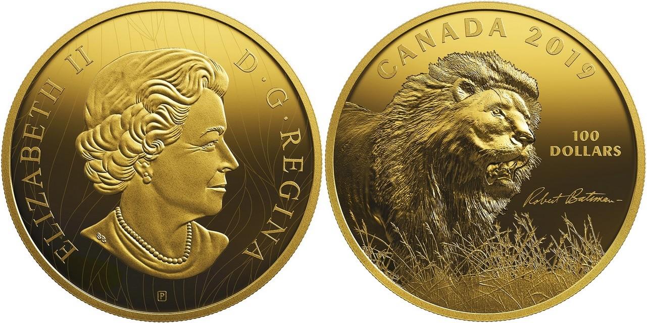 canada-2019-lion-de-robert-bateman