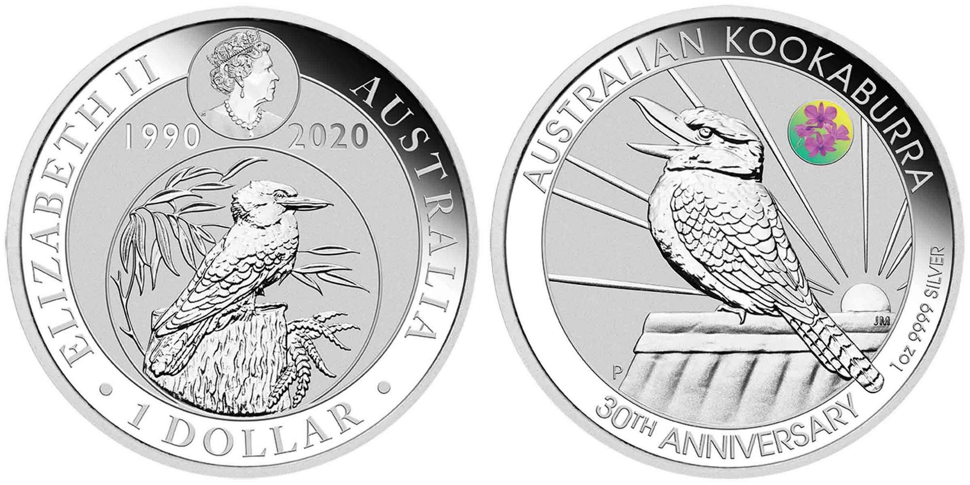 austtralie-2020-kookaburra-salon-numismatique-brisbane