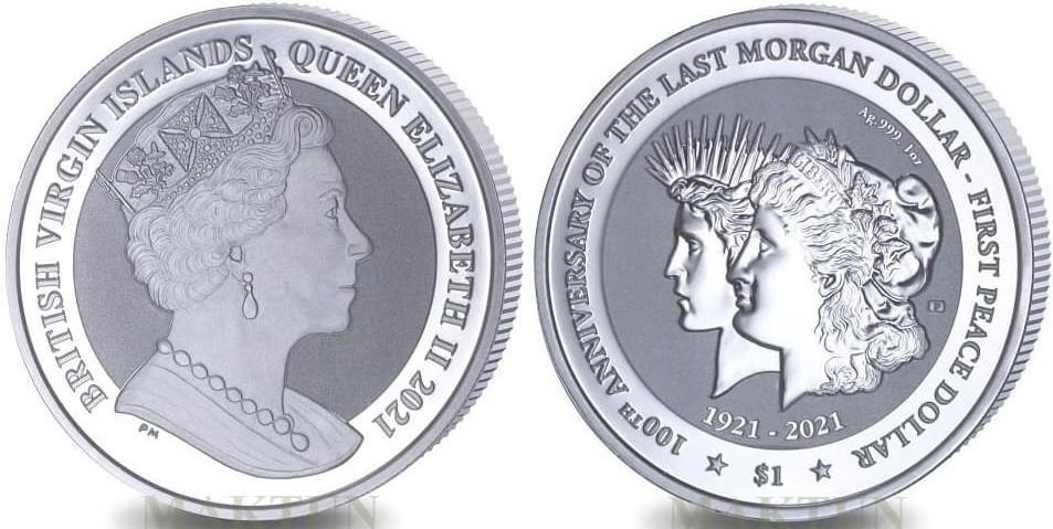 iles-vierges-brit-2021-centenaire-de-la-transition-morgan-et-peace-dollar