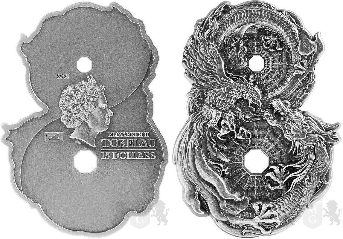 tokelau-2021-chiffre-8-dragon-et-phenix