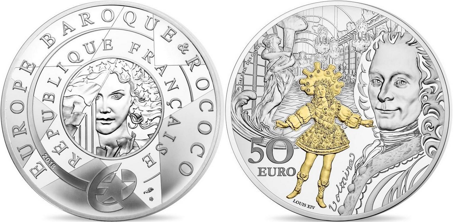 france 2018 europa star baroque et rococo 5 oz
