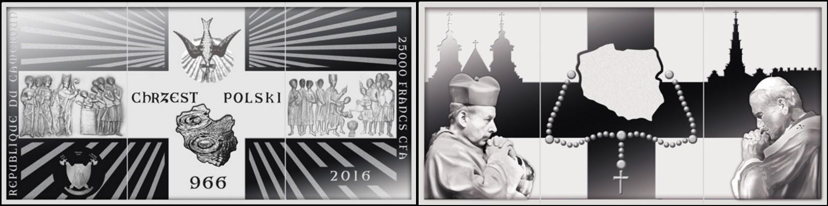 cameroun 2016 cristianisme polonais 4 oz