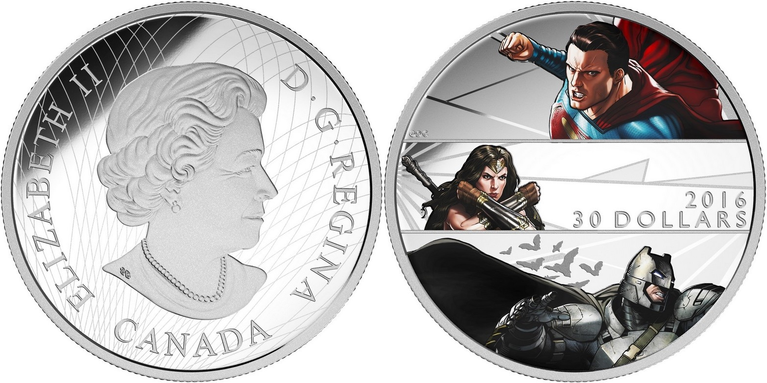 canada 2016 batman contre superman 30$