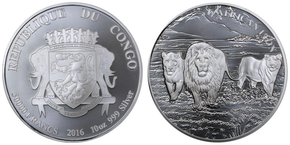 congo 2016 lions 10 oz