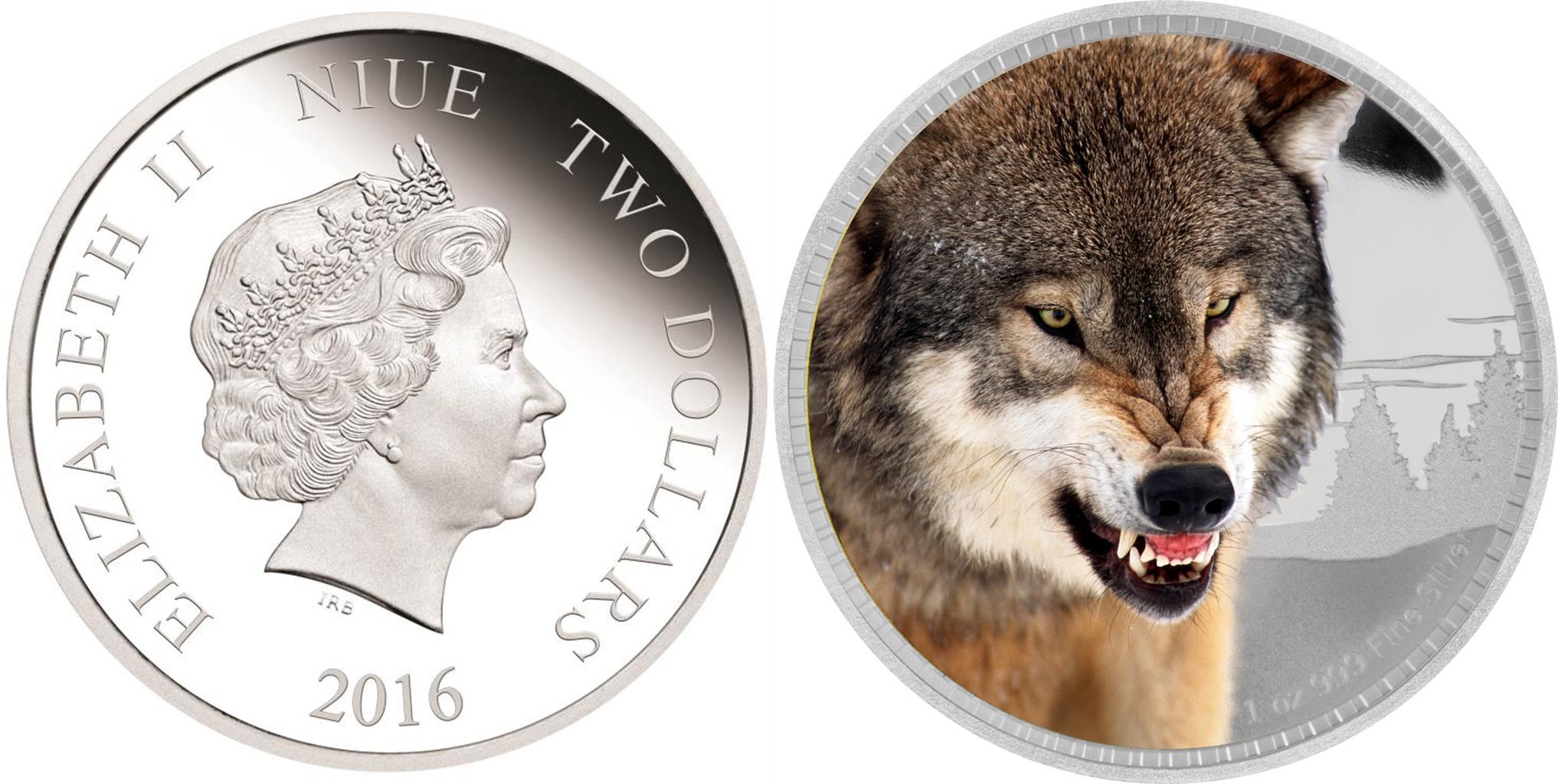 niue 2016 roi des continents loup
