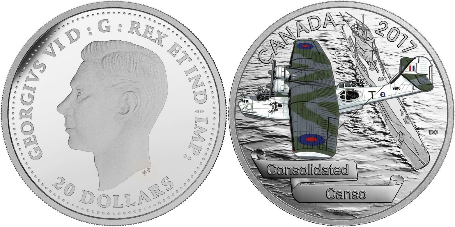 canada 2017 avions de la seconde guerre consolidated canso