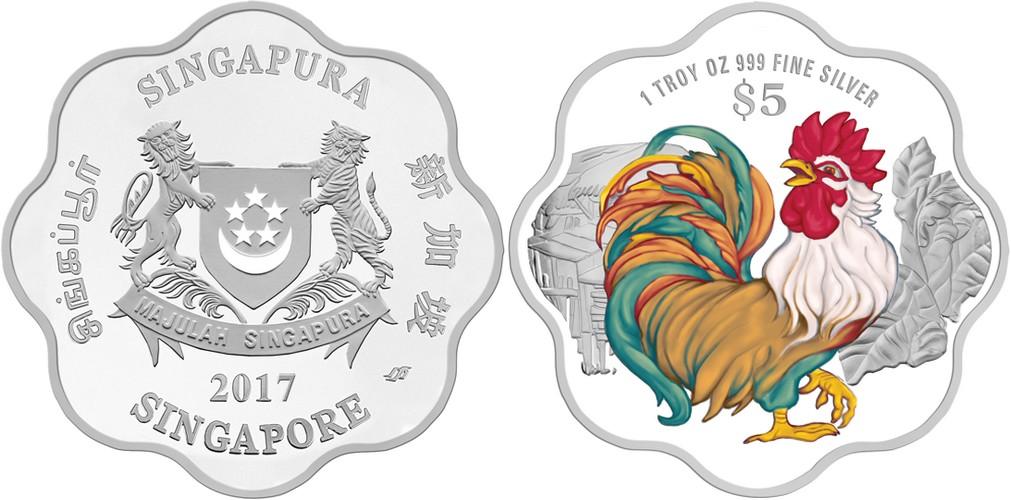 singapour 2017 coq flower