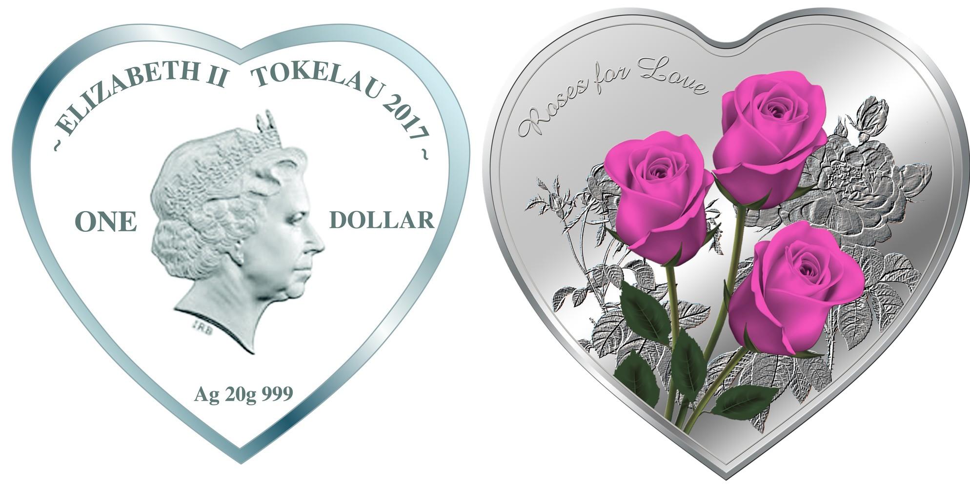 tokelau 2017 roses pour l'amour