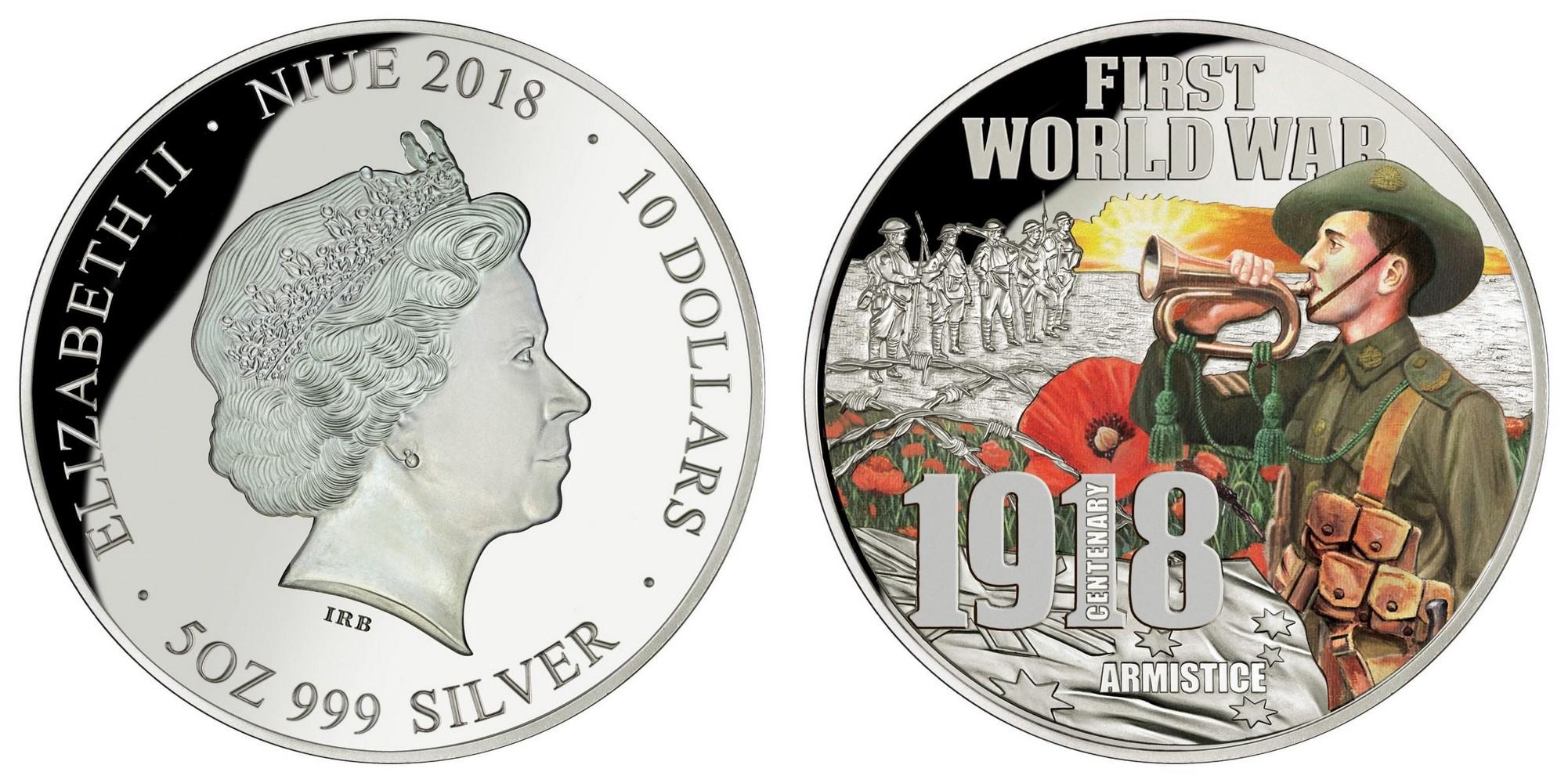 niue 2018 centenaire armistice de 1918