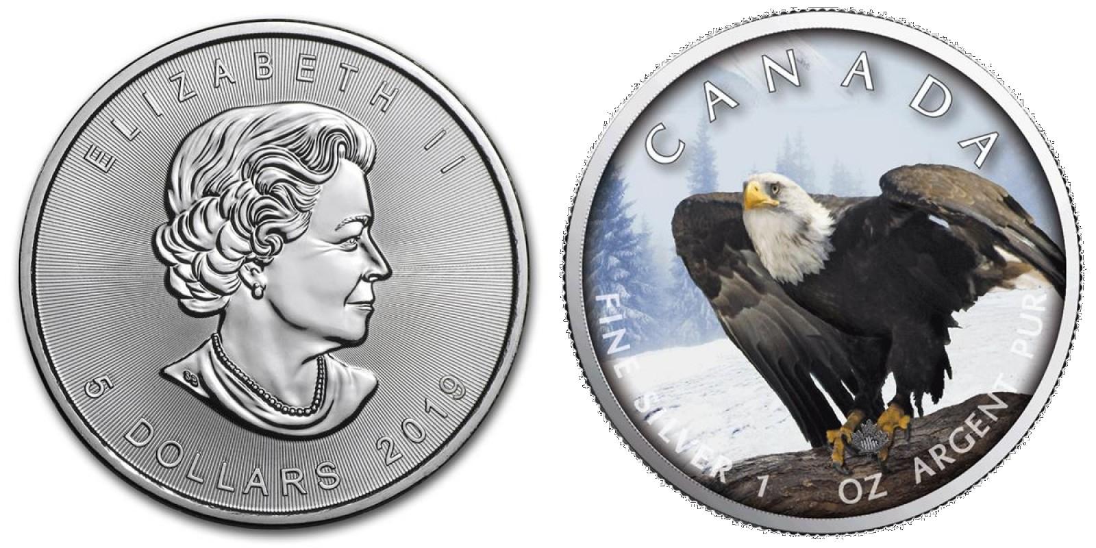 canada 2019 maple aigle chauve
