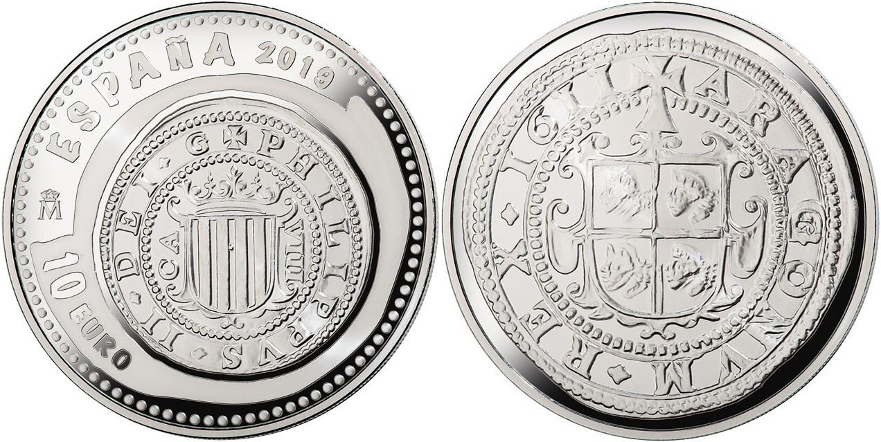 espagne 2019 joyaux numismatiques 8 reales felipe III