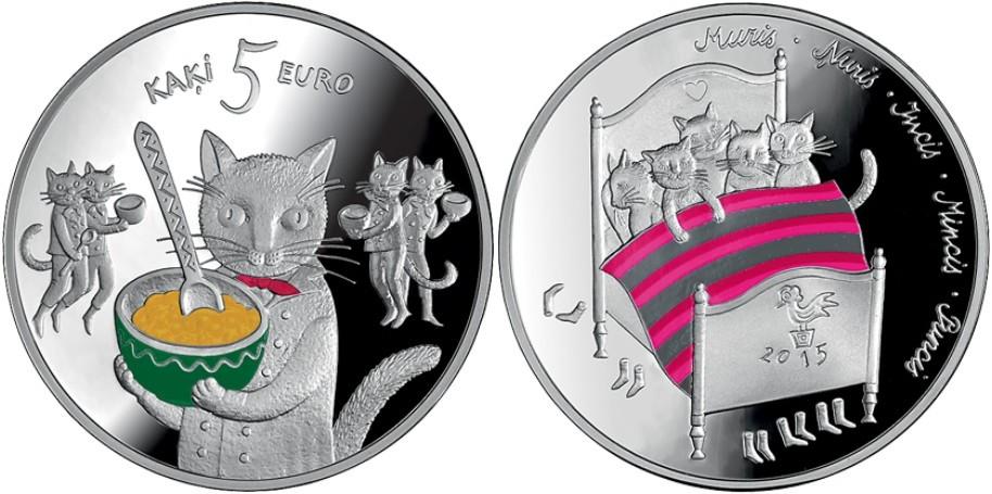 lettonie 2015 conte les 5 chats