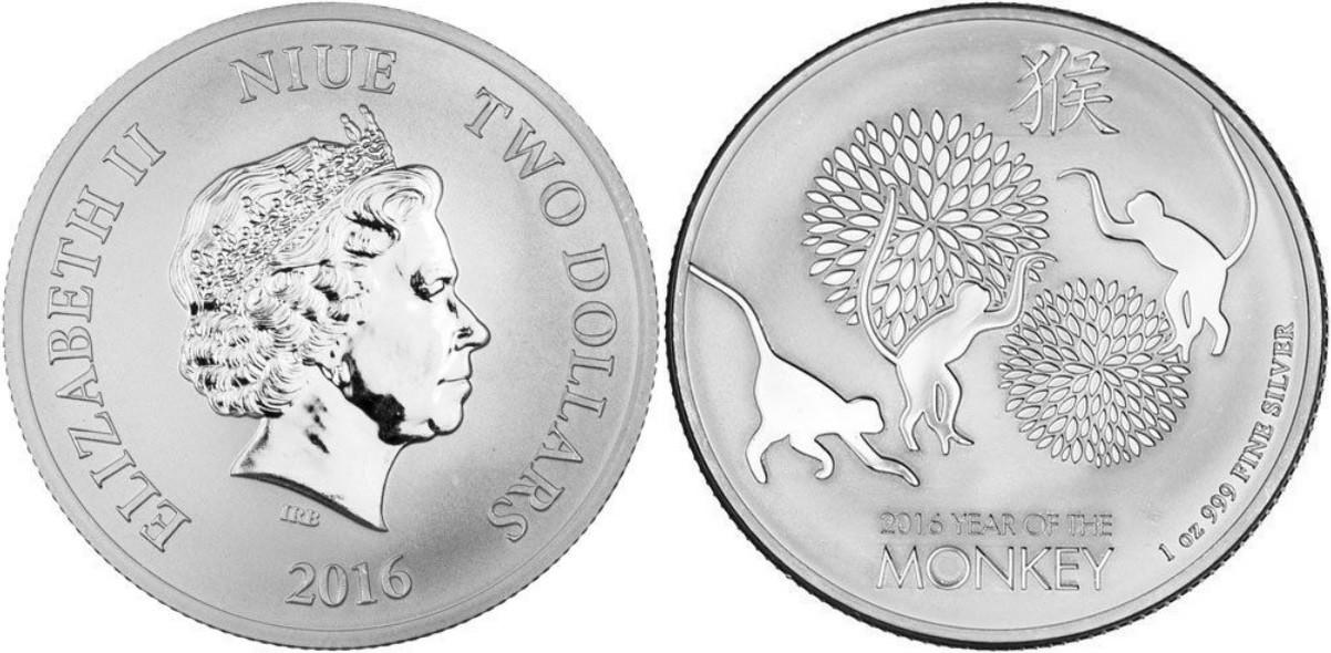 niue 2016 singe bullion