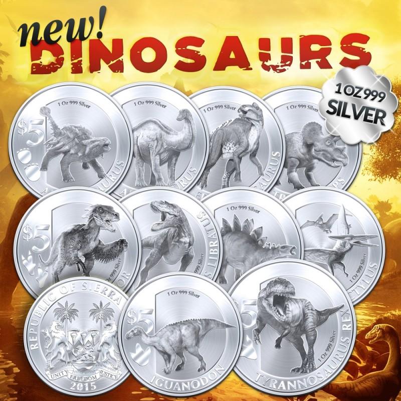 sierra leone 2015 dinosaures