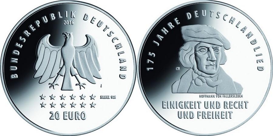 allemagne 2016 175 ans hymne allemand