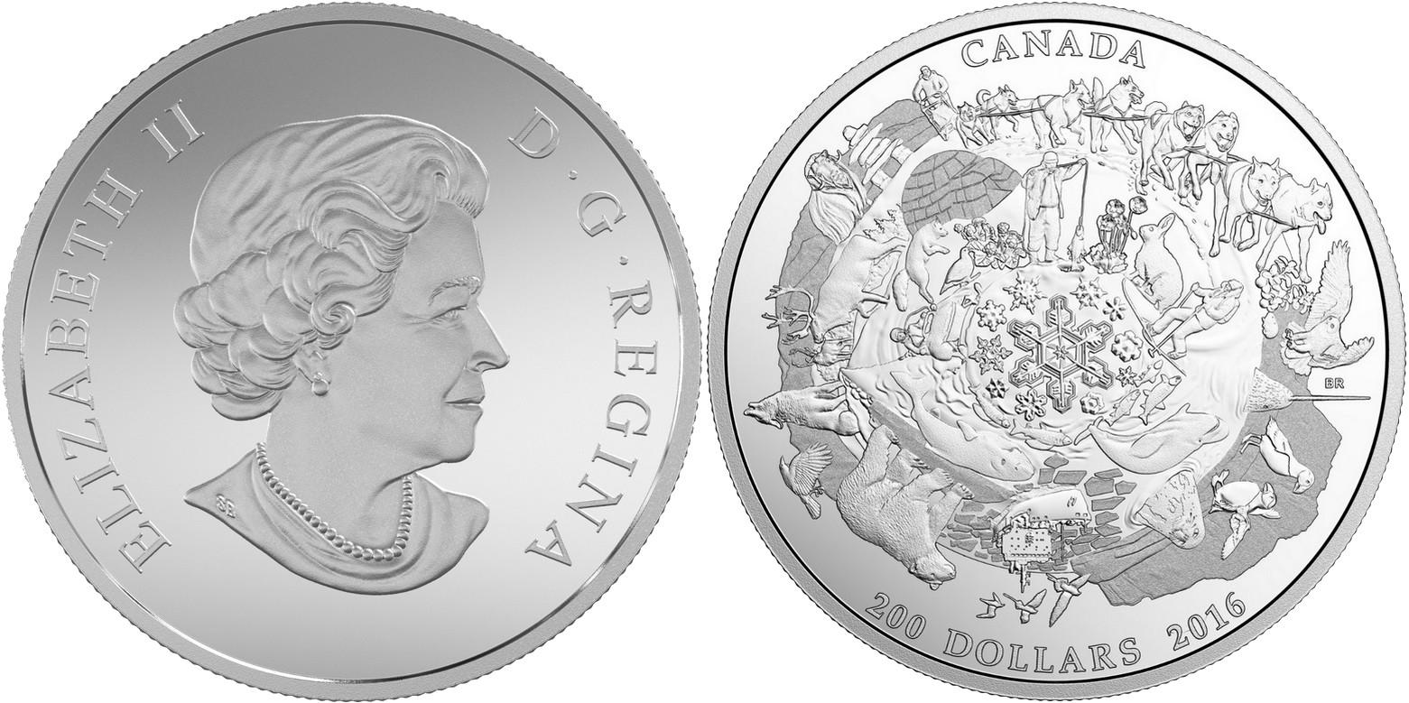 canada 2016 200$ pour 200$ arctique