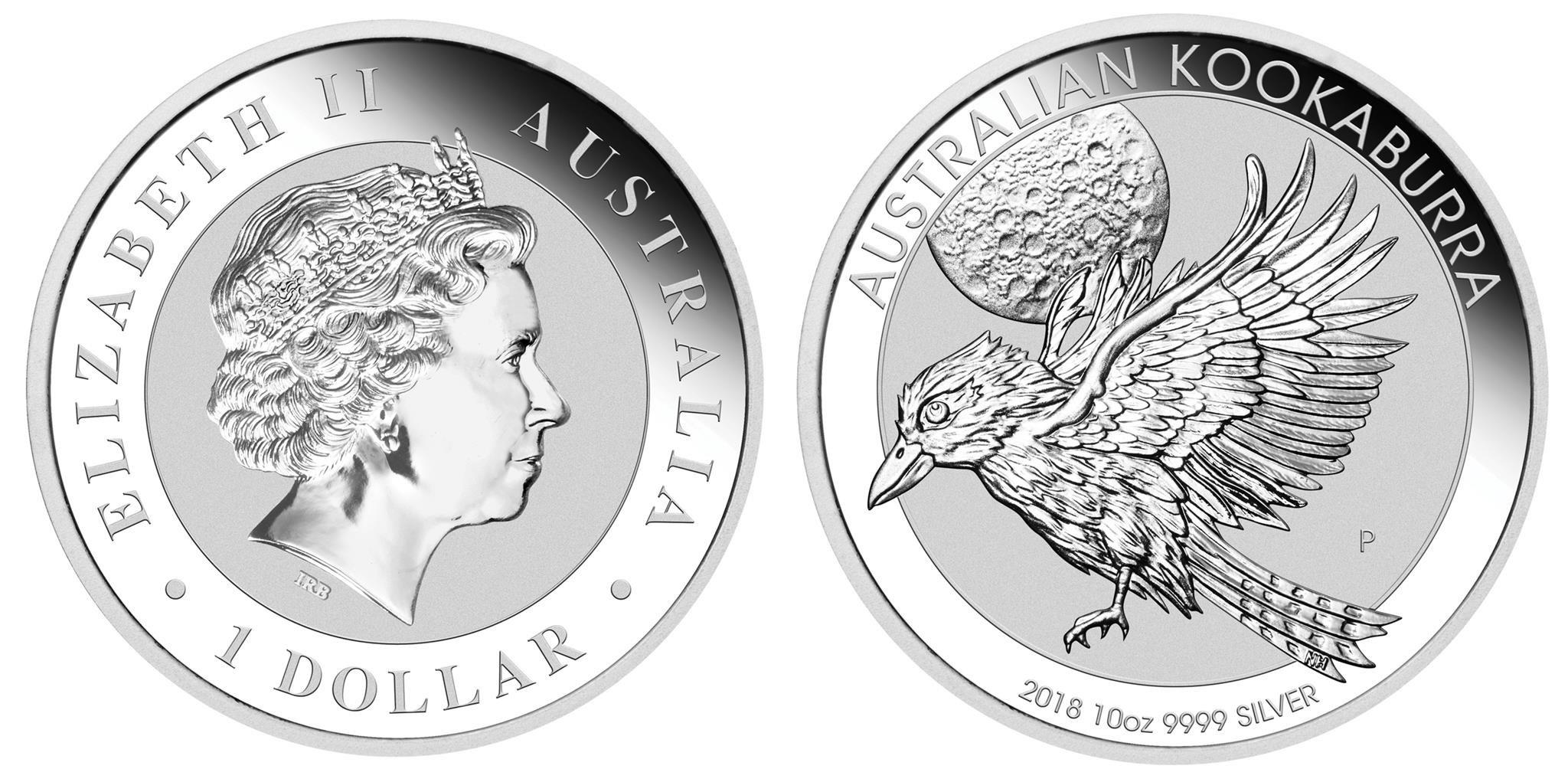 australie 2018 kookaburra 10 oz