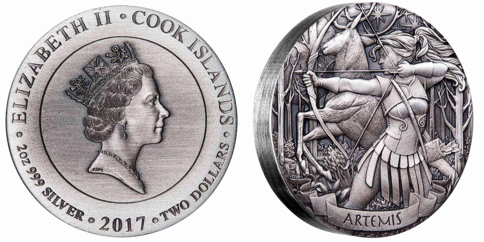 cook isl 2017 dieux de l'olympe artemis