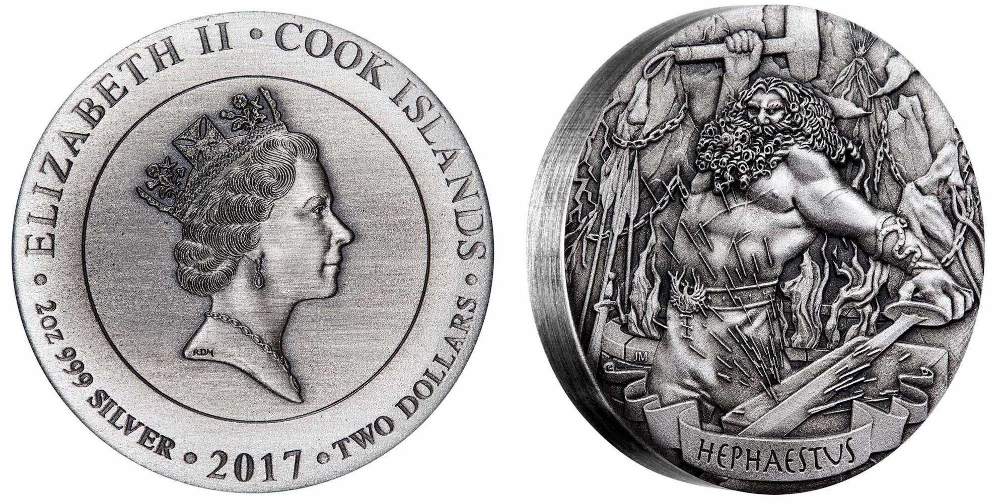 cook isl 2017 dieux de l'olympe hephaistos
