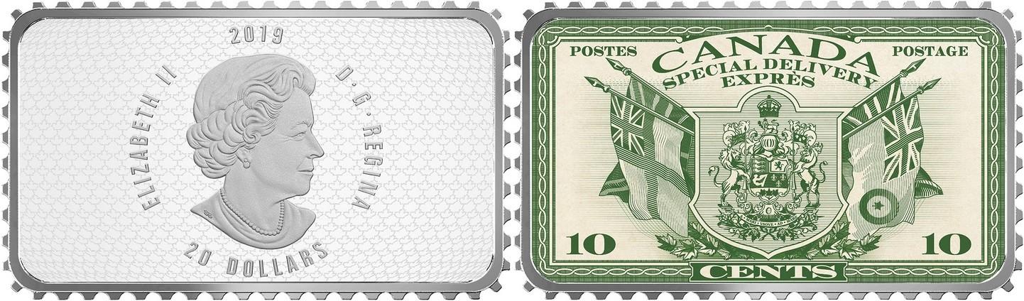 canada 2019 timbres historiques du canada armoiries et drapeaux