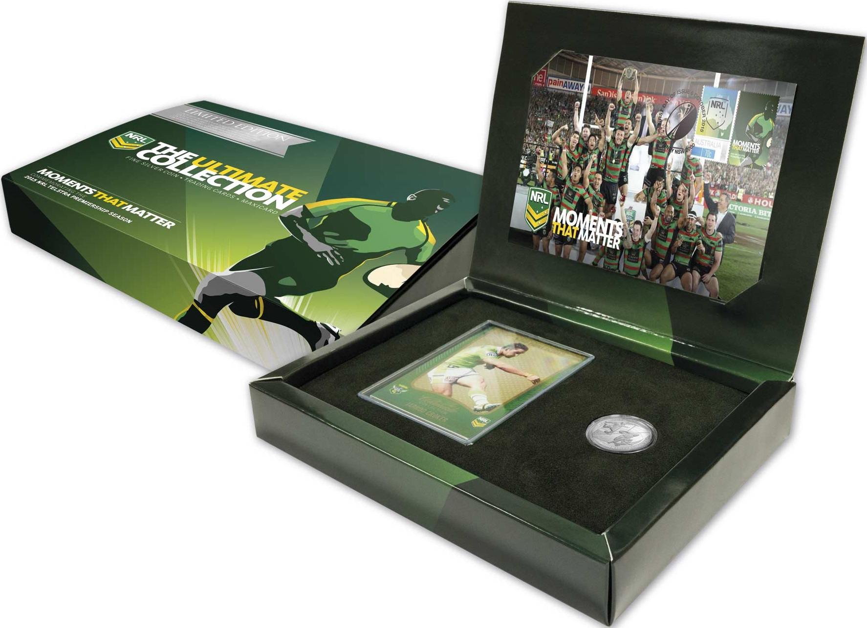 australie 2015 ultimate collection NRL coffret