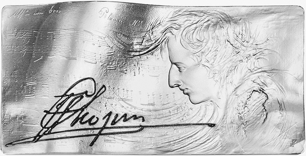 niue 2015 chopin 2 oz rev