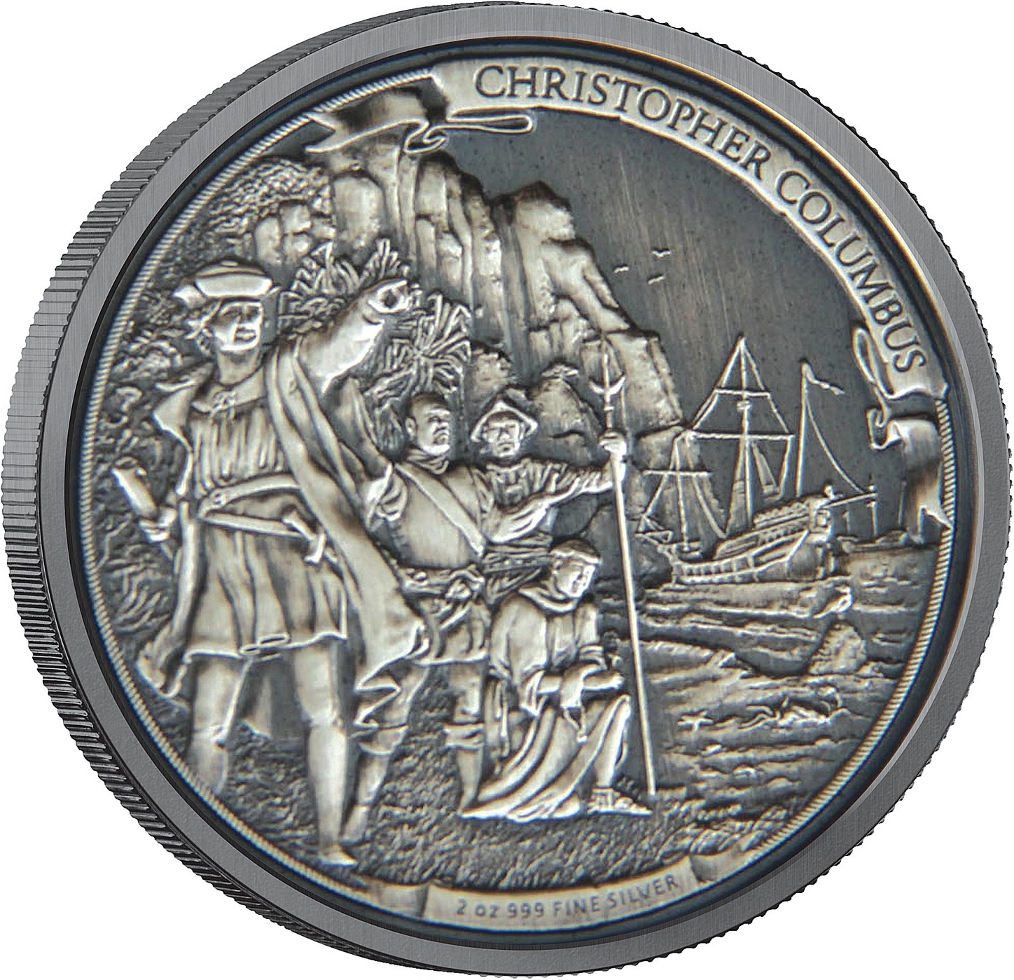 niue 2015 christophe colomb 2 oz