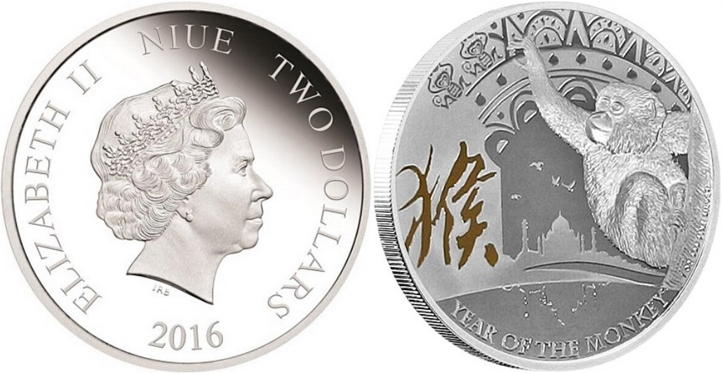 niue 2016 singe nz mint
