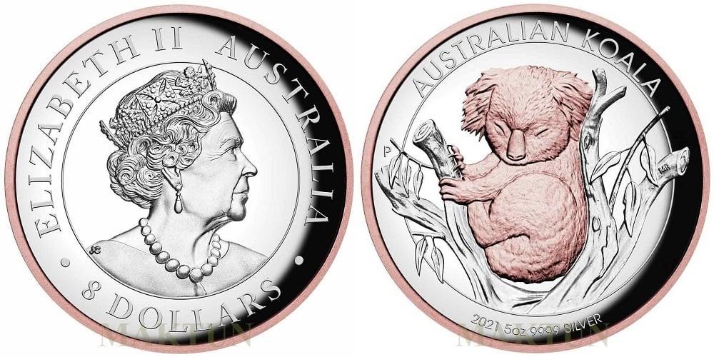 australie-2021-koala-5-oz-hr-or-rose