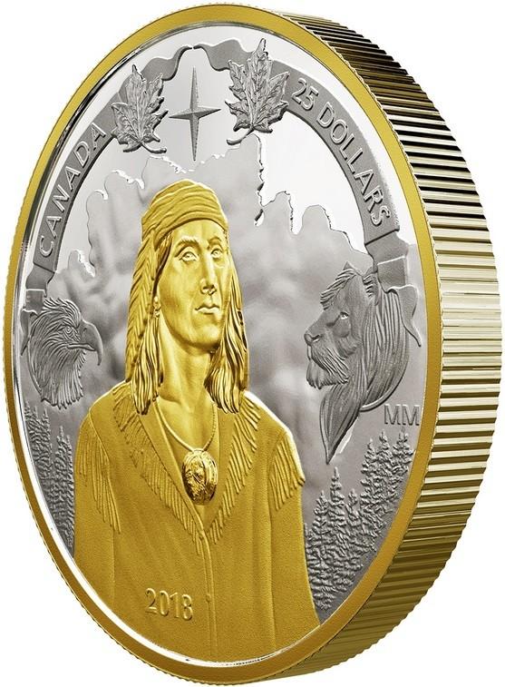 canada 2018 250 ans naissance de tecumseh tranche
