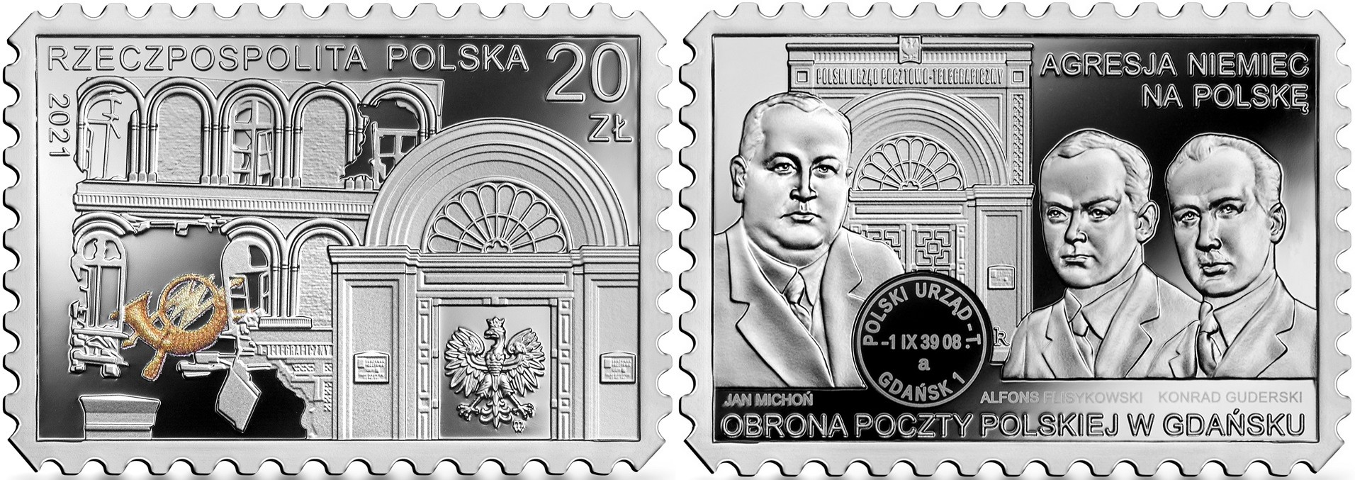 pologne-2021-defense-de-la-poste-polonaise-a-gdansk
