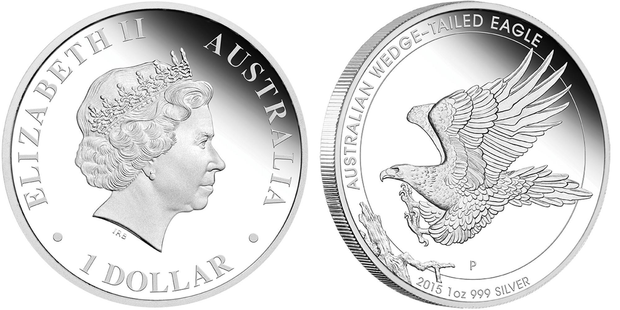 australie 2015 aigle australien proof
