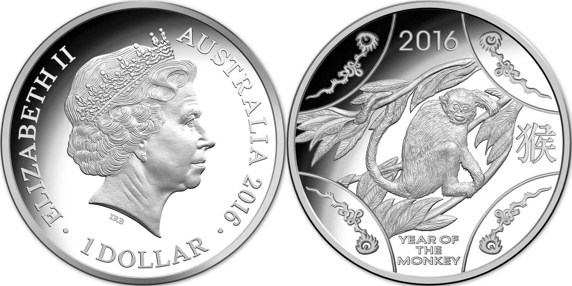 australie 2016 singe 11.66 g