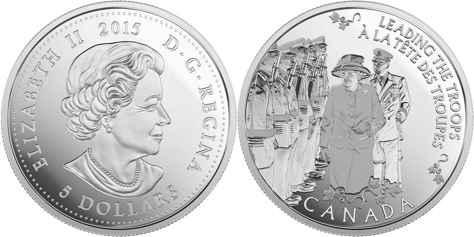 canada 2015 hier princesse, aujourd'hui monarque