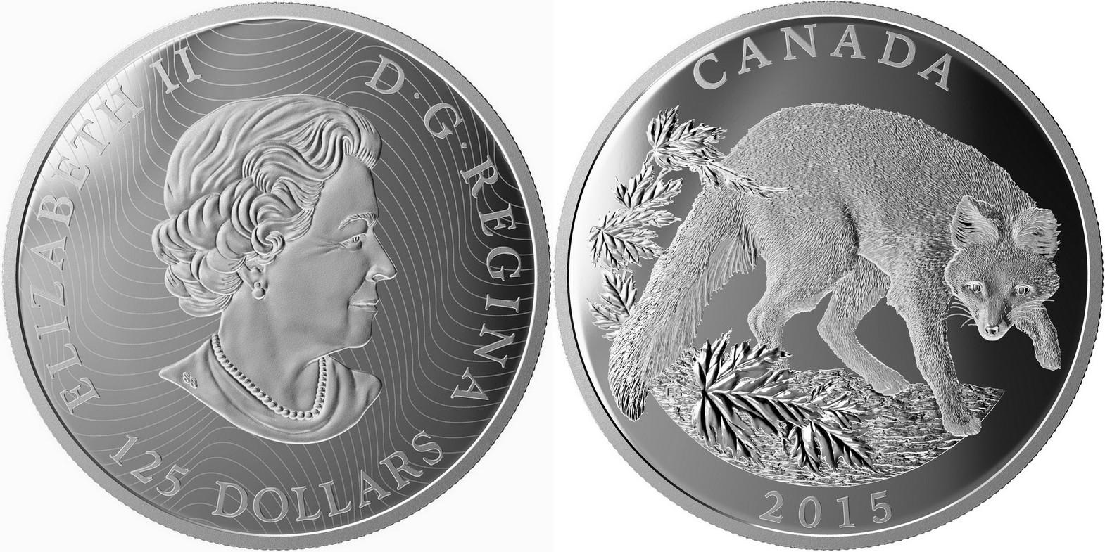 canada 2015 renard gris 500 g