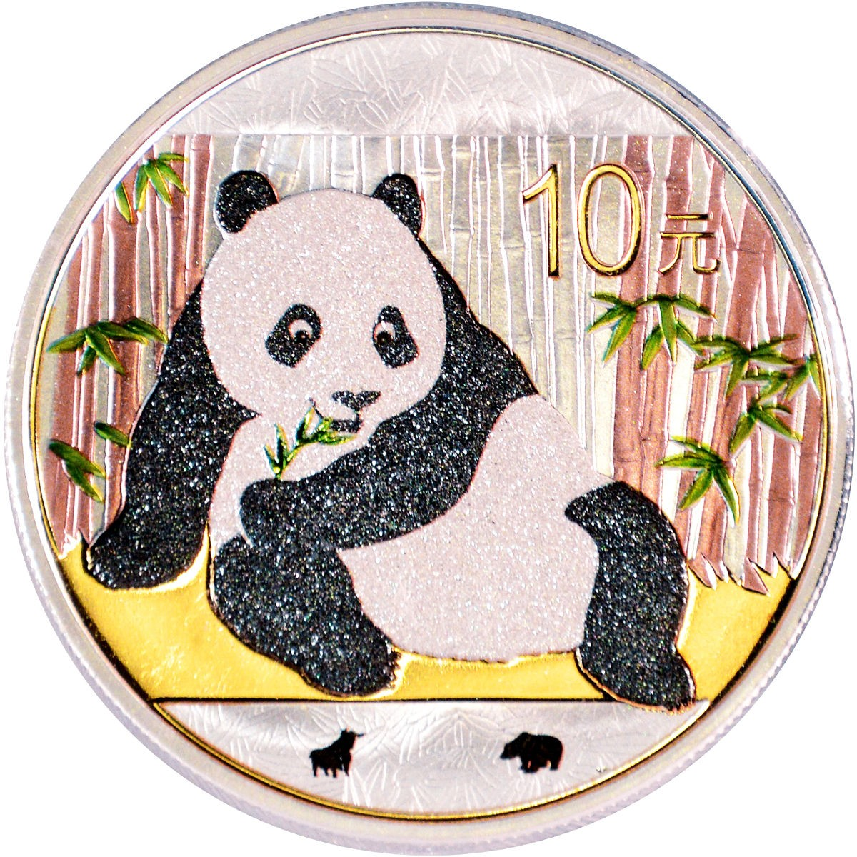 chine 2015 panda bull & bear diamond line