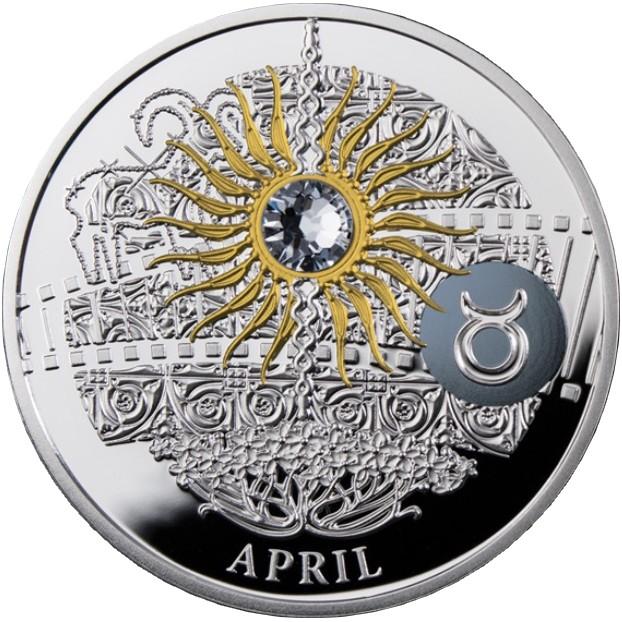 niue 2015 calendrier magique avril