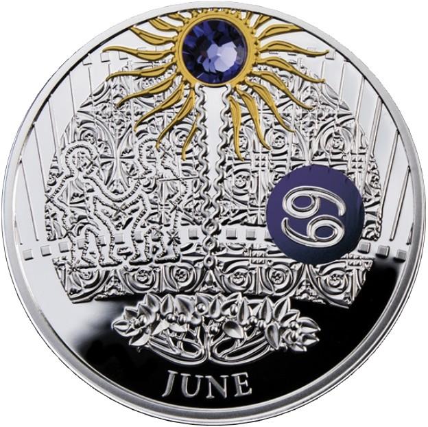 niue 2015 calendrier magique juin