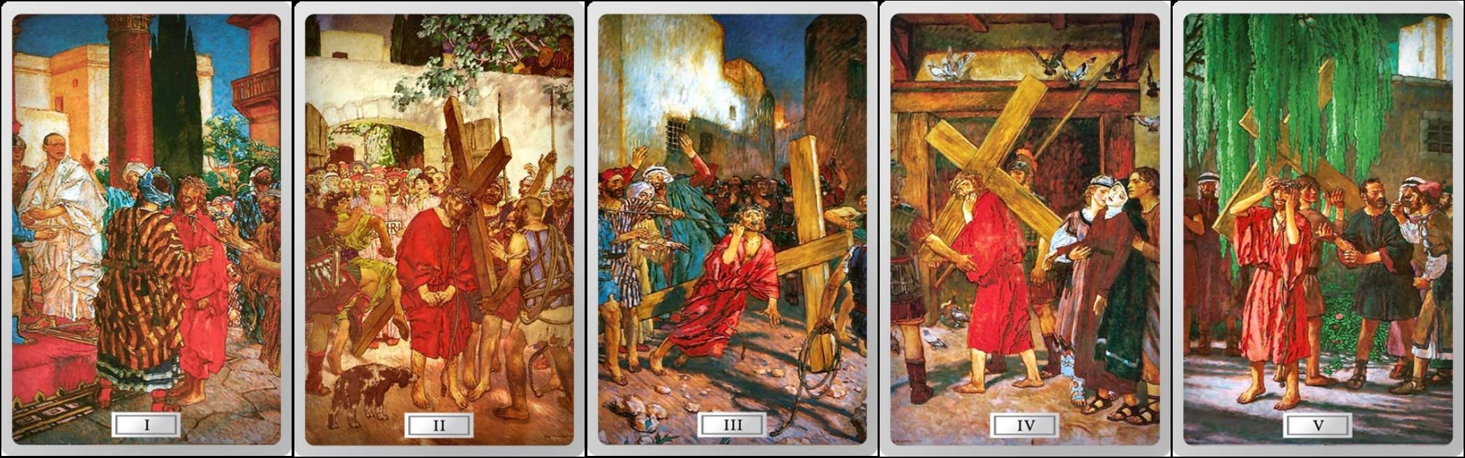 niue 2015 chemin de croix 1-5
