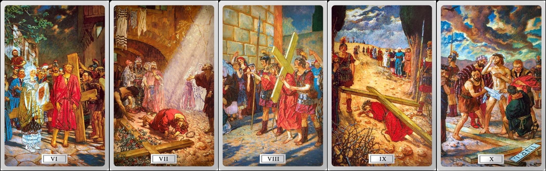 niue 2015 chemin de croix 6-10