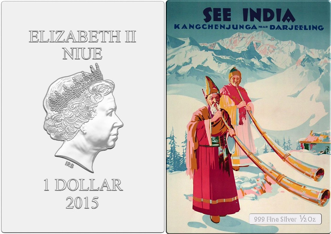 niue 2015 mini posters see india