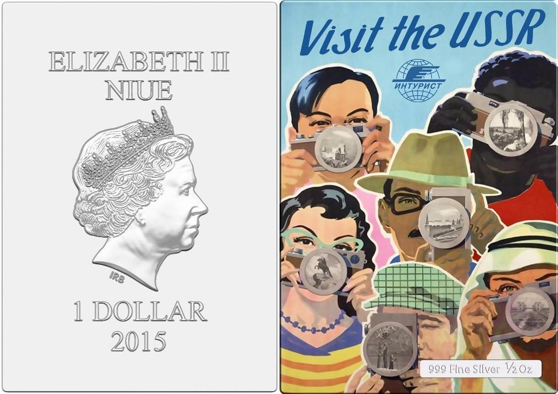 niue 2015 mini posters visit ussr