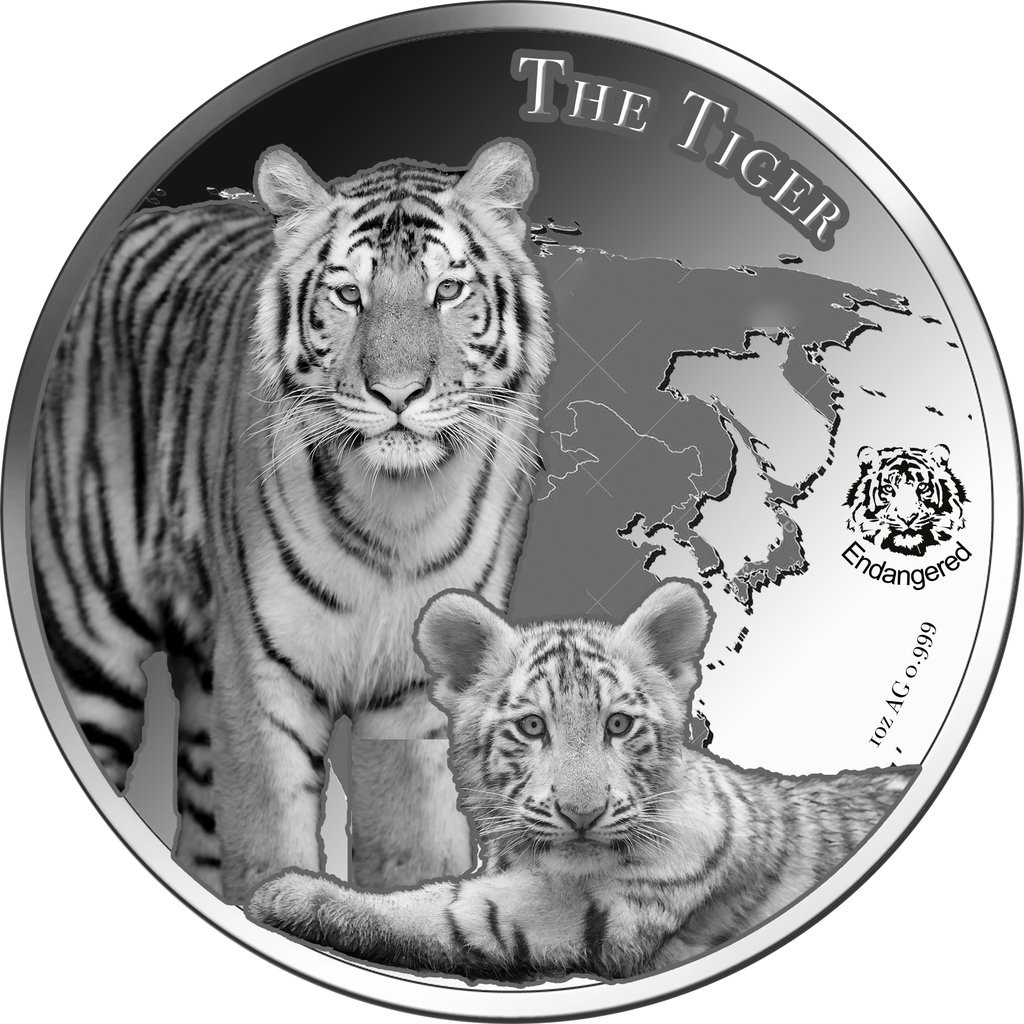 niue 2015 tigre