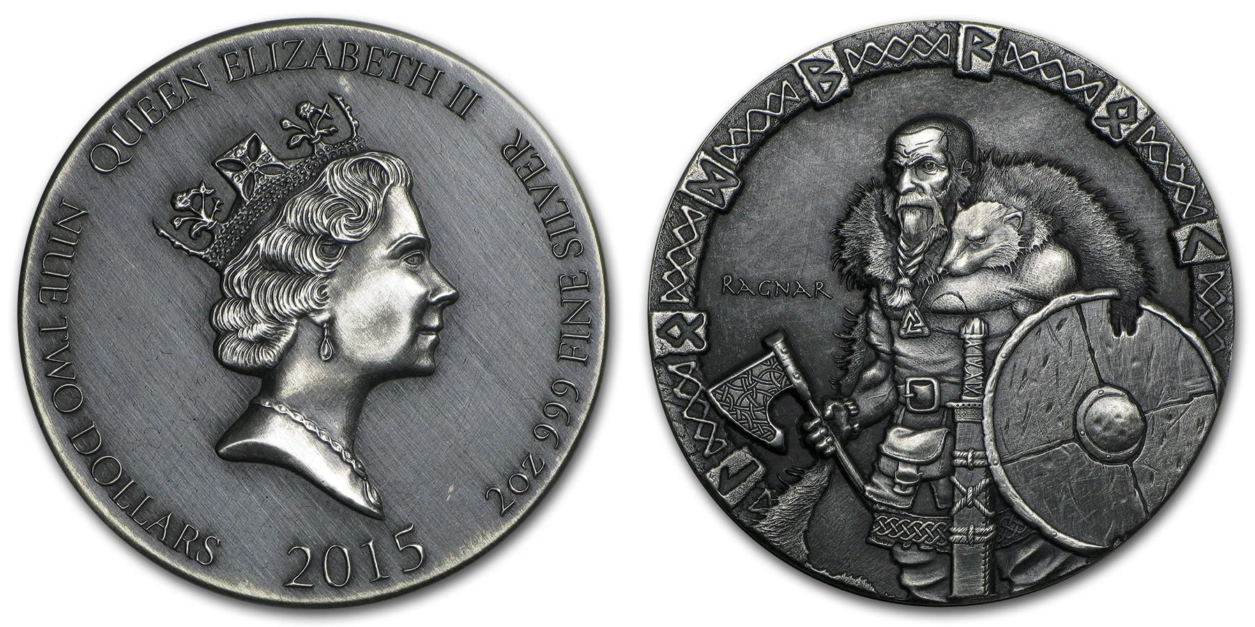 niue 2015 vikings guerrier ragnar